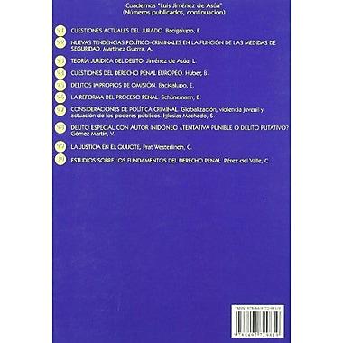 Estudios sobre los fundamentos del derecho penal (Spanish Edition), Used Book (9788497729819)