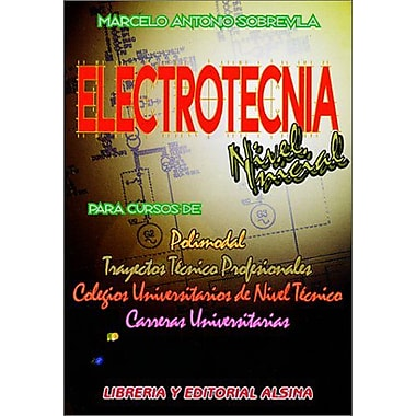 Electrotecnia Nivel Inicial (Spanish Edition), New Book (9789505530618)