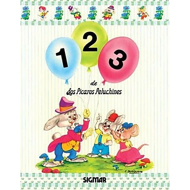 1 2 3 - Los Picaros Peluchines (Los Picaros Peluchines Escuelita) (Spanish Edition), New Book (9789501103991)