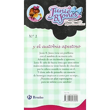 Junie B. Jones y el autobus apestoso/ Junie B. Jones and the Stupid Smelly Bus (Spanish Edition), New Book (9788421696460)