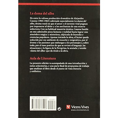 La Dama del Alba / The Lady of the Dawn (Aula de Literatura), Used Book (9788431637217)