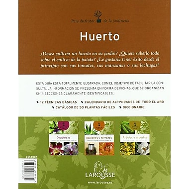 Huerto/ Vegetable Garden (Jardineria Facil/ Easy Gardening) (Spanish Edition), New Book (9788480168403)