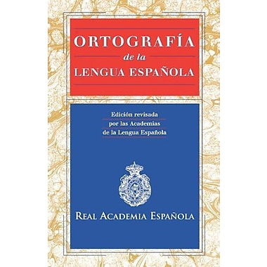 Ortografía de la lengua espanola / Spelling In Spanish (Spanish Edition) (9788423968121)