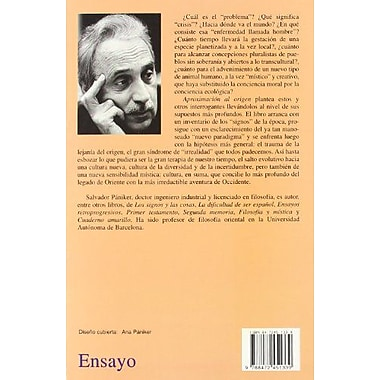 Aproximacion Al Origen (Spanish Edition), Used Book (9788472451339)