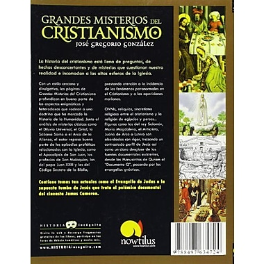 Grandes Misterios del Cristianismo (Spanish Edition), New Book (9788497634724)