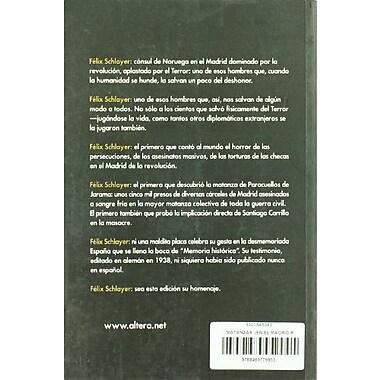 Matanzas en el Madrid Republicano: Paseos, Checas, Paracuellos . . . (Spanish Edition), New Book (9788489779853)