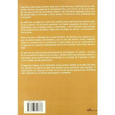 La InformAtica. Presente Y Futuro En La Sociedad (Spanish Edition), New Book (9788497729666)