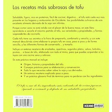 Tofu para gourmets/ Tofu for Gourmets (Spanish Edition), Used Book (9788475565538)