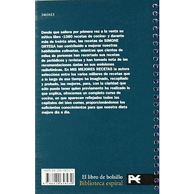 Mis mejores recetas / My Best Recipes (El Libro De Bolsillo / the Pocket Book) (Spanish Edition), Used Book (9788420658230)