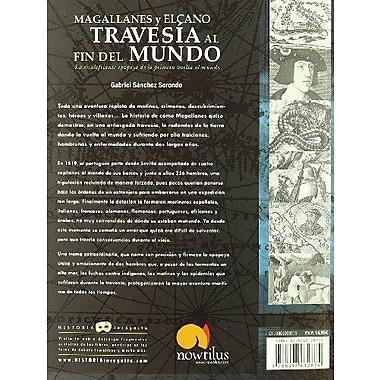 Magallanes y Elcano: Travesia al fin del mundo (Spanish Edition), New Book (9788497632874)