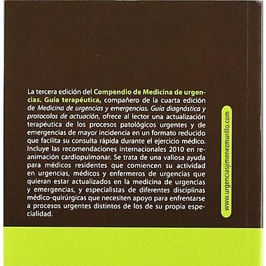 COMPENDIO MEDICINA URGENCIAS. GUIA TERAPEUTICA, New Book (9788480867481)