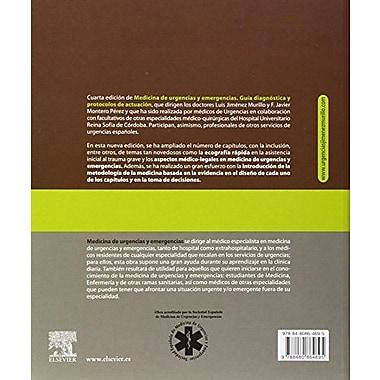 Medicina de urgencias y emergencias: guía diagnóstica y protocolos de actuación, New Book (9788480864695)