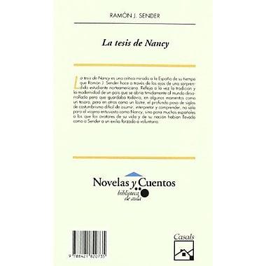 La Tesis de Nancy, New Book (9788421820735)