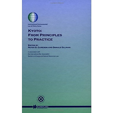 Kyoto: From Principles to Practice (Speciale Studie / Nyfer), New Book (9789041116895)