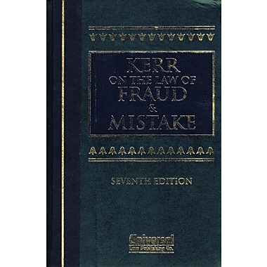 Law of Fraud and Mistake, Used Book (9788175340466)