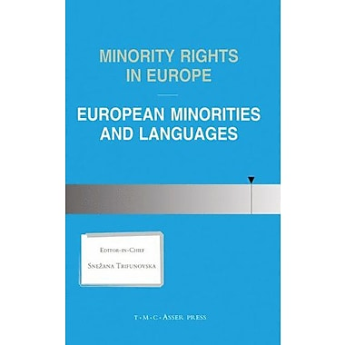 Minority Rights in Europe:European Minorities and Languages, Used Book (9789067041270)