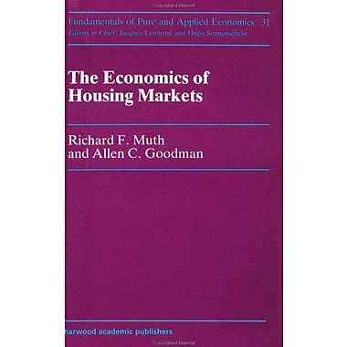 Economics of Housing Markets (Fundamentals of Pure and Applied Economics Series), Used Book (9783718648726)