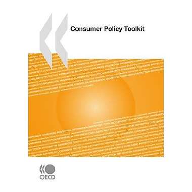 Consumer Policy Toolkit, New Book (9789264079656)