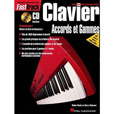 FASTTRACK FRENCH KEYBOARD CHORDS & SCALES CD/PKG, New Book (9789043103558)