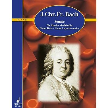 SONATA IN A MAJOR PIANO 4 HANDS, Used Book (9783795752873)