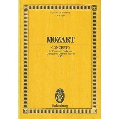 PIANO CONCERTO K453 G MAJOR STUDY SCORE (Edition Eulenburg), Used Book (9783795769239)