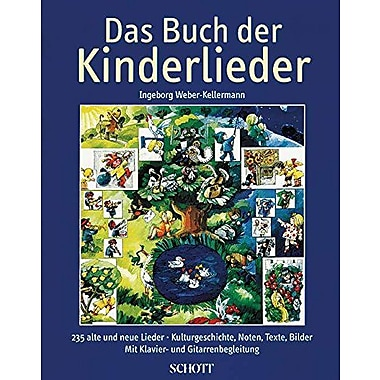 Das Buch der Kinderlieder: 235 Old and New Songs (German) - for Voice and Piano (Schott), Used Book (9783795720636)