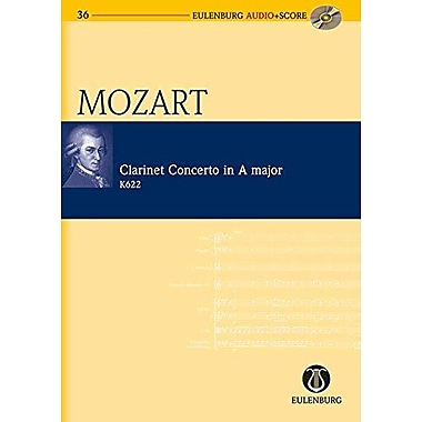 Clarinet Concerto in A Major KV 622: Eulenburg Audio+Score Series, Used Book (9783795765361)
