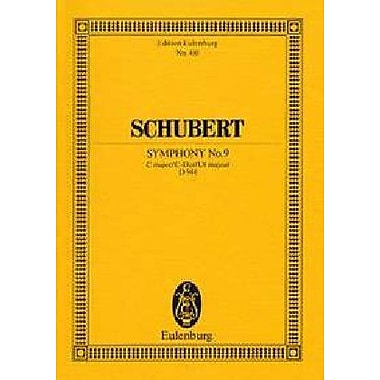 SYMPHONY NO.9 C MAJOR D944 STUDY SCORE (Edition Eulenburg) (9783795766993)