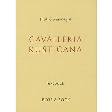 Cavalleria Rusticana Libretto, New Book (9783793110552)