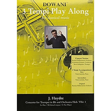 Concerto For Trumpet And Piano Reduction In E Flat Major Hobviie:1 Old Pkg (Dowani 3 Temp Play Along), Used Book (9783905479720)