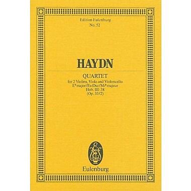 STRING QUARTET FOR 2 VIOLINS VIOLA AND VIOLONCELLO E FLAT MAJOR OP33/2 (Edition Eulenburg), Used Book (9783795768737)