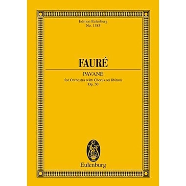 PAVANE FOR ORCHESTRA WITH CHORUS AD LIBITUM STUDY SCORE (Edition Eulenburg), New Book (9783795771300)