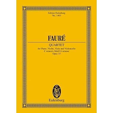 PIANO QUARTET 1 OP. 15 (Edition Eulenburg) (9783795767129)