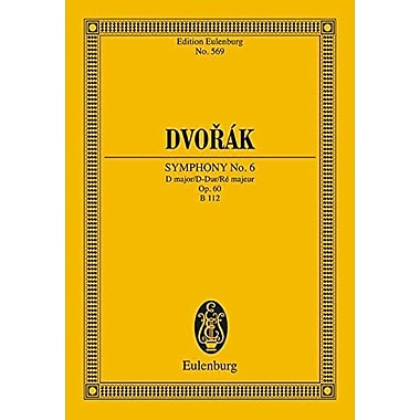 Symphony No. 6 in D Major, Op. 60: Study Score, Used Book (9783795762179)