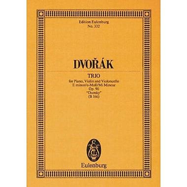 TRIO FOR PIANO VIOLIN AND VIOLONCELLO DUMKY E MINOR OPUS 90(B166) STUDY SCORE (Edition Eulenburg), Used Book (9783795769475)