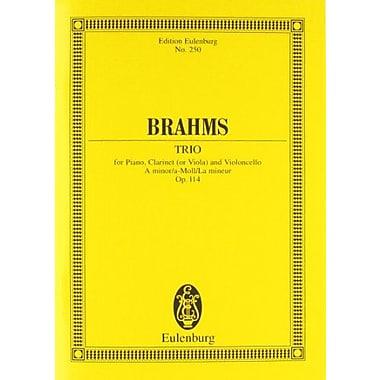 Piano Trio Op. 114 for Piano, Clarinet(or Viola) and Violoncello in A Minor(Edition Eulenburg No. 250), New Book (9783795767457)
