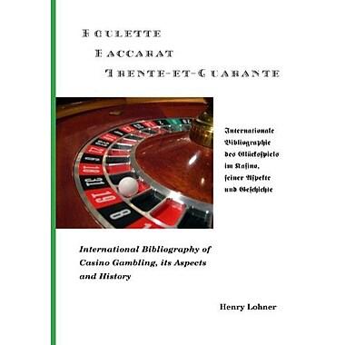 Roulette - Baccarat -Trente-et-Quarante (German Edition), Used Book (9783833492112)