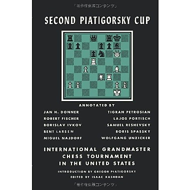 Second Piatigorsky Cup International Grandmaster Chess Tournament Held in Santa Monica, California Au, Used Book (9784871878449)