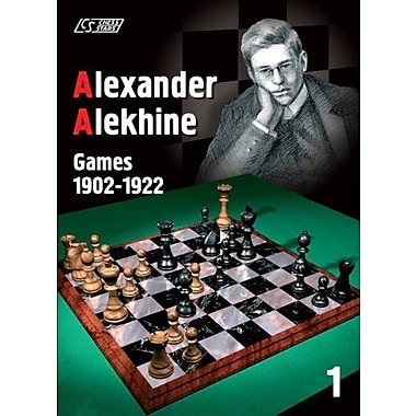 Alexander Alekhine: Games 1902-1922 (Games Collections), New Book (9789548782210)