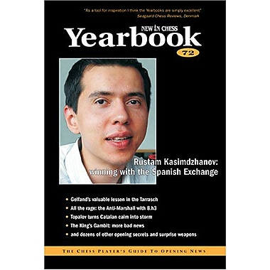 New In Chess Yearbook 72: The Chess Player's Guide to Opening News, New Book (9789056911300)