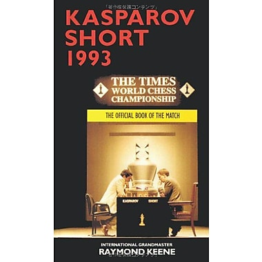 Kasparov vs Short 1993 The Official Book of the Match, New Book (9784871878623)