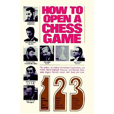 How to Open a Chess Game, New Book (9784871878173)