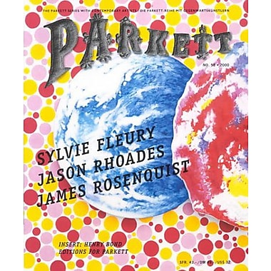 Parkett No. 58 Sylvie Fleury, Jason Rhoades, James Rosenquist (9783907582084)