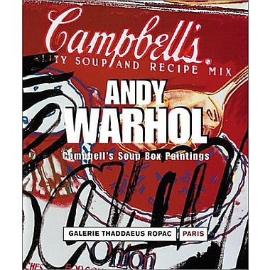 Andy Warhol: Campbell's Soup Box Paintings (French Edition), Used Book (9783901935084)
