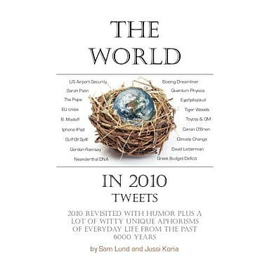 The World in 2010 Tweets, New Book (9789163369254)