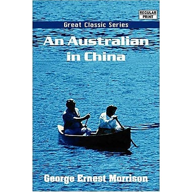 An Australian in China, New Book (9788132026112)