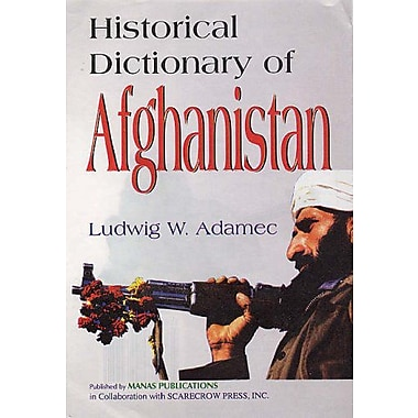 Historical Dictionary of Afghanistan, Used Book (9788170493112)