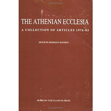 The Athenian Ecclesia 1: A Collection of Articles 1976-83 (Opuscula Graecolatina) (v. 1), Used Book (9788788073522)