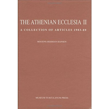 The Athenian Ecclesia 2: A Collection of Articles 1983-89 (Opuscula Graecolatina) (v. 2), New Book (9788772890609)
