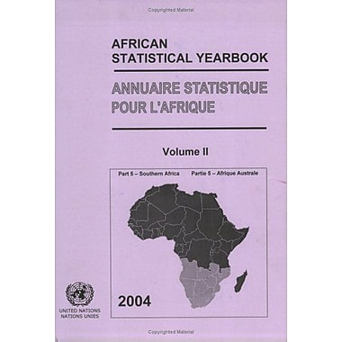 African Statistical Yearbook: Southern Africa 2004 (Multilingual Edition), Used Book (9789210251563)
